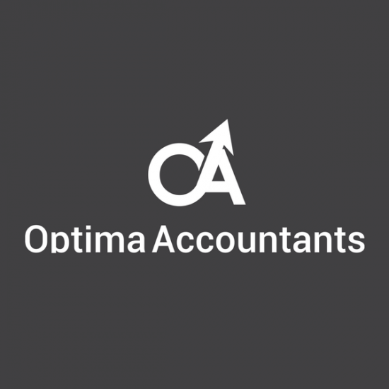 Optima Accountants Logo by TA Digital – Grey