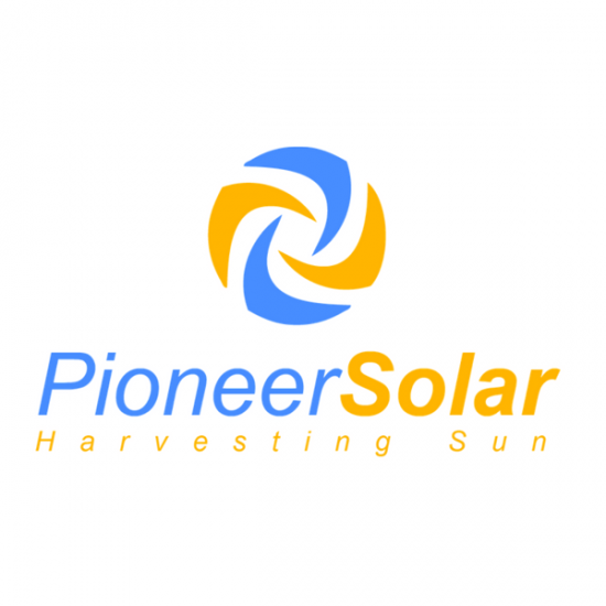 Pioneer Solar Logo by TA Digital