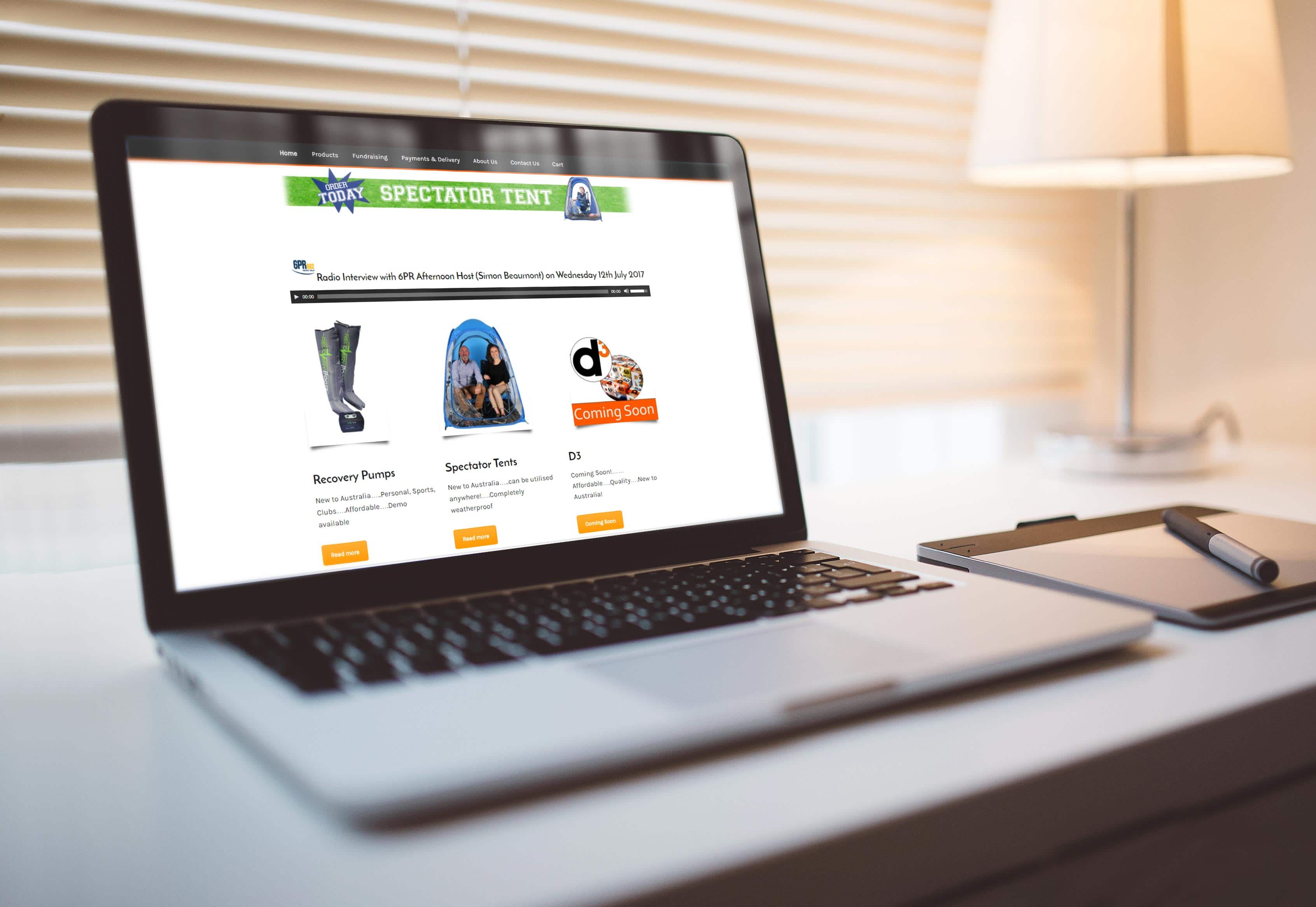 Premium Leisure Website by TA Digital