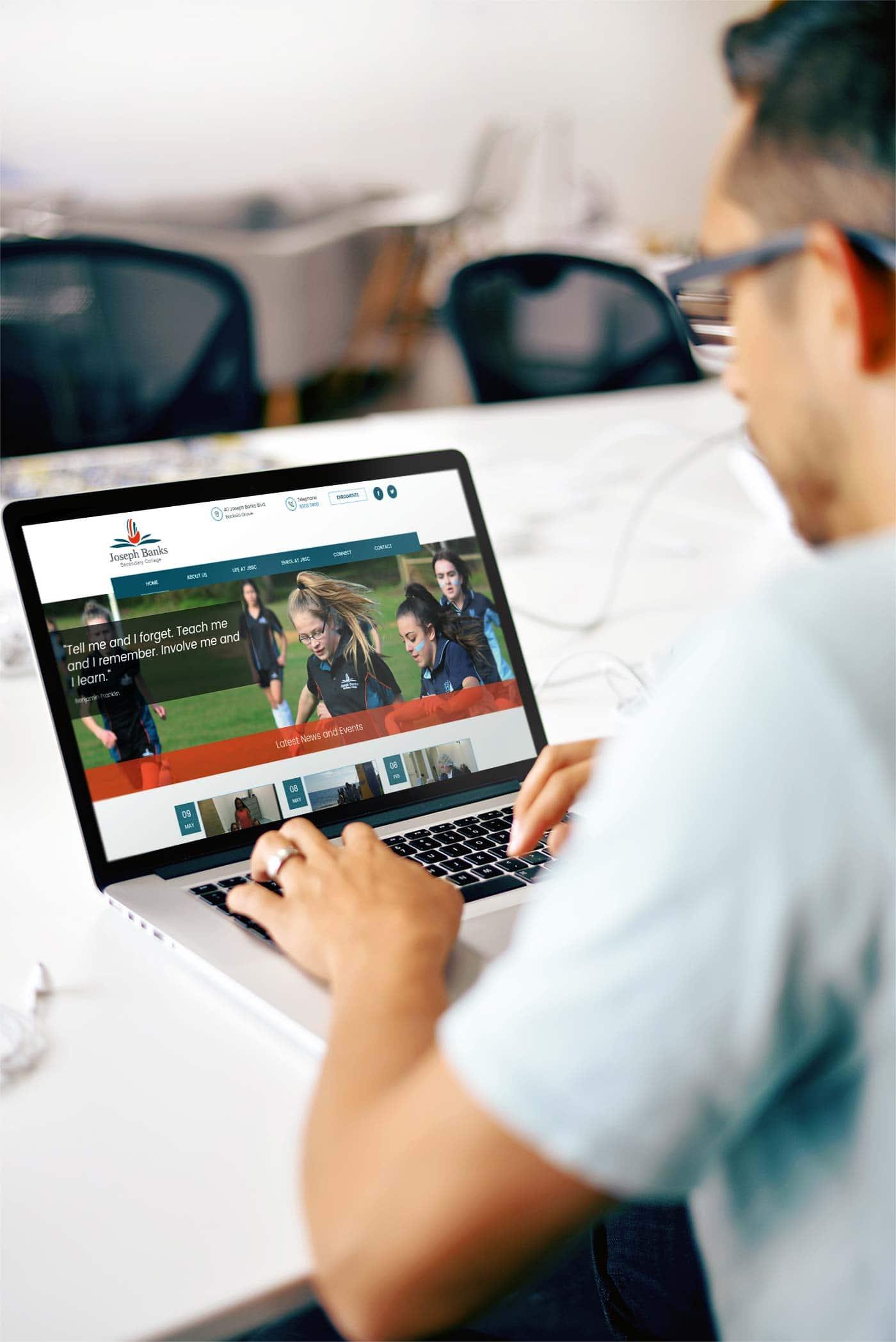 TA Digital Website – College